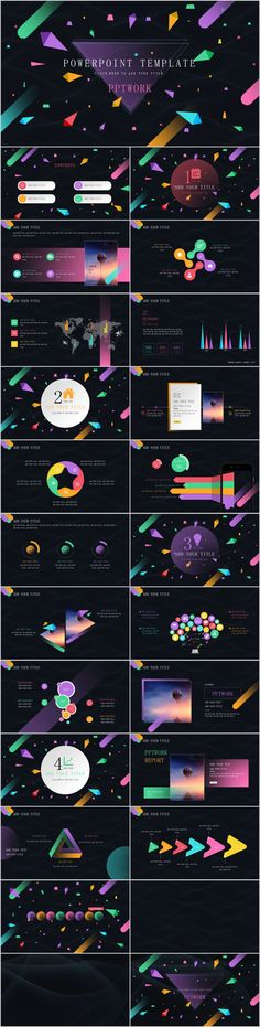 263 Best creative powerpoint templates images in 2019 Business