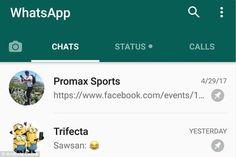 Ya puedes fijar conversaciones de WhatsApp en Android