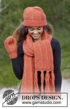 Women - Free knitting patterns and crochet patterns by DROPS Design Baby Knitting Patterns, Knitting Designs, Free Knitting, Crochet Patterns, Free Crochet, Drops Design, Star Stitch, Mittens Pattern, Baby Cardigan