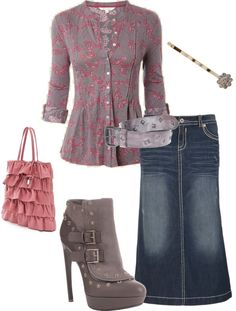 "friday casual    ""Untitled #54"" by aaronjillthomas on Polyvore"