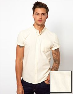 ASOS Oxford Shirt With Stripe