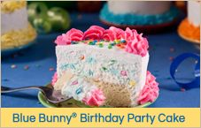 Yum! @Blue Bunny Ice Cream Cake - let's #party!