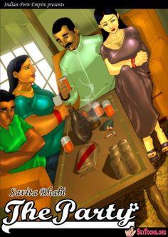 Savita bhabhi - Adult Comic - Episode 3 - The Party