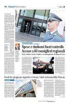 Spese del Consiglio Regionale della Campania: 60 consiglieri e Caldoro sotto l'esame della Corte dei Conti