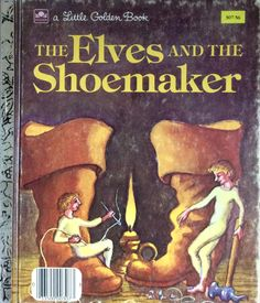 The Elves and The Shoemaker Little Golden Book by Lonestarblondie on Etsy