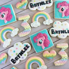 Pinkie Pie, My Little Pony cookies for a 3rd birthday. @pinklemoncookies #atx #pinkiepiecookies #mylittleponycookies #3rdbirthdaycookies My Little Pony Birthday Party, Girl First Birthday, 4th Birthday Parties, Baby Birthday, Birthday Ideas, Pinkie Pie, Lemon Cookies, Sugar Cookies, Pink Lemon