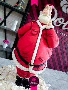 Santa Claus - Cake by Kalid M. Torres
