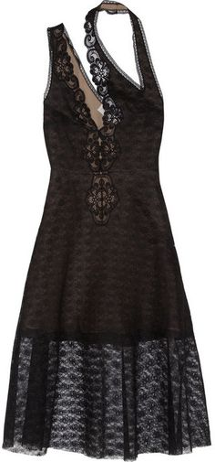 $3,955, Caroline Cutout Lace Dress by Stella McCartney. Sold by NET-A-PORTER.COM. Click for more info: http://lookastic.com/women/shop_items/90607/redirect
