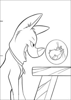 Bolt Coloring Pages 20