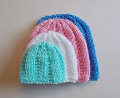 Ravelry: Perfect Premature Unisex Baby Hats pattern by marianna mel**