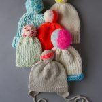 Knitting Stitches, Knitting Patterns Free, Free Knitting, Baby Knitting, Knitting Projects, Crochet Projects, Jumbo Yarn, Flap Hat, Purl Soho