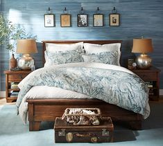 Beautiful AND eco-friendly, the Joli Paisley Duvet Cover & Sham is a winner!