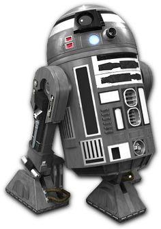 R2-Q2 Star Wars Characters, Star Wars Episodes, Droides Star Wars, R2 Unit, Starwars, Galactic Republic, War Film, Death Star, Star Wars Art