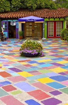 Spanish Art Village @ Balboa Park - San Diego, California