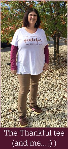 The thankful tee -- and me! Fashion Friday at Cents of Style. #ad #centsofstyle @centsofstylellc