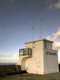 New Brighton. The Lifeguard Station.