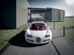 Model Bugatti Veyron Grand Sport Wei Long 2012