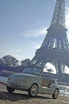 Fiat 500 de plage, Sté Parfait Etat, Paris