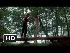 Dirty Dancing Movie Clip - watch all clips http://j.mp/y74XX4 click to subscribe http://j.mp/sNDUs5  Baby (Jennifer Grey) dances with Johnny (Patrick Swayze) on a log because it builds better balance.  TM & © Lionsgate (2012) Cast: Jennifer Grey, Patrick Swayze Director: Emile Ardolino MOVIECLIPS YouTube Channel: http://j.mp/vqieFG Join our Face...