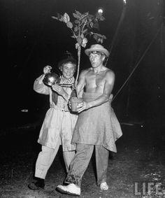 Danny Kaye & Harpo Marx