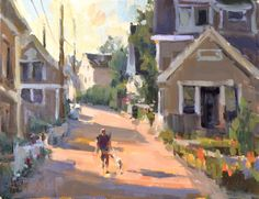 Featured Artist: Anne Blair Brown – Opening Reception Tonight at Simie Maryles Gallery… Paintings I Love, Beautiful Paintings, Small Paintings, Landscape Art, Landscape Paintings, Watercolor Paintings, Blair Brown, Pintura Exterior, Brown Art