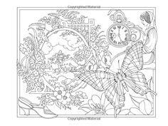 Amazon.com: ESCAPES Collage Art Coloring Book (Adult Coloring) (9780486798738): Marty Noble: Books Witch Coloring Pages, Adult Coloring Pages, Coloring Sheets, Coloring Books, Adult Crafts, Colorful Pictures, 2 Colours, Collage Art, Gifs