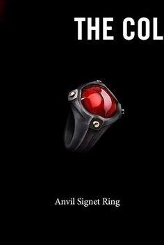 DAVID YURMAN - MAN's ANVIL COLLECTION, Signet Ring, Fall 2016