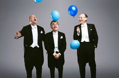 I just photographed this years Nobel Prize Winners with balloons. - Imgur