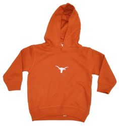 Texas Longhorns Two Feet Ahead Toddler Orange Fleece Hoodie Sweatshirt