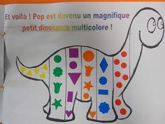 Pop mange de toutes les couleurs - ecole-saint-aubin-guerande