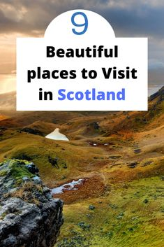 9 Beautiful places to visit while on a holiday/trip to Scotland. Where to go in Scotland, how to get there and what to do after. Scotland Vacation, Scotland Travel, Beautiful Places To Visit, Cool Places To Visit, European Road Trip, Holiday Travel, Holiday Trip, European City Breaks, Kids Around The World