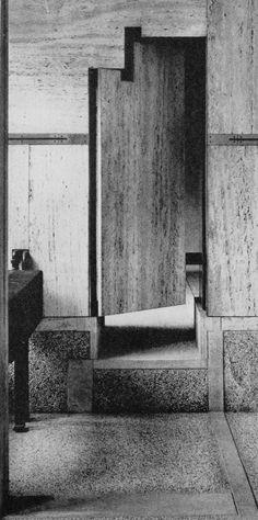 CARLO SCARPA  PALAZZO QUERINI STAMPALIA IN VENICE, 1949