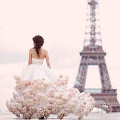 Lovely wedding dress inspiration.