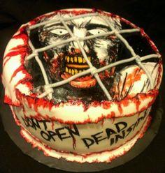 The Walking Dead Cake                                                       …