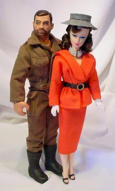 AFKA Joshard make over reproduction Barbie & GI Joe dolls...Jeff Bouchard