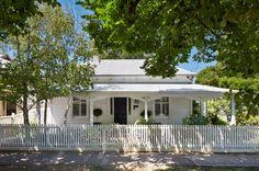 clapboard home Melbourne Australia Transitional Exterior by Bloom Interior Design