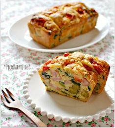 Cake-of simple plenty of vegetables in ☆ HM Sare ☆ Cooking Bread, Savoury Dishes, Sweets Recipes, Recipe Box, Japanese Food, Bento, Baked Potato, Quiche, Mashed Potatoes