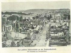Bombardıman sonrası Çanakkale 1915.