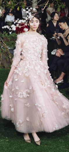 Dior Couture Sppring 2017, show in Tokyo April 19, 2017