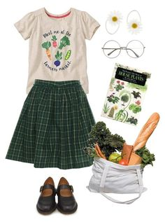 """""""Going to the grocery store!"""" by jaimelesplantes on Polyvore featuring mode, Monsoon, Tommy Hilfiger, Market et Dr. Martens"""