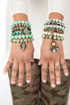 STYLE TIP ONLY Expressions Bracelets Women's Accessories Beaded Bracelets Stacked Bracelets Spiritual Healing Etsy on Etsy, $25.00