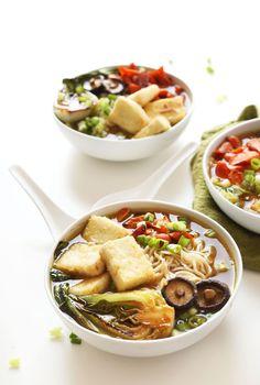 AMAZING Easy Vegan Ramen! #vegan #ramen #soup #recipe #healthy