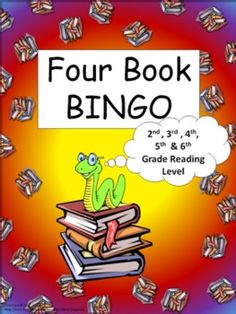 Four Book BINGO (2nd, 3rd, 4th, 5th, and 6th grade)- BUNDLE -This packet consist of 50 boards. 30 book specific boards and 20 category boards. -This is a reading activity with a 'connect four' type of twist. Basically, the students read any four books in a row (horizontally, vertically, or diagonal) to complete the game board.
