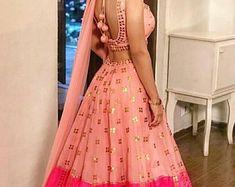 Indian customised designer wear by Charismastreet Choli Designs, Lehenga Designs, Blouse Designs, Dress Designs, Indian Dresses, Indian Outfits, Indian Clothes, Pakistani Outfits, Gagra Choli
