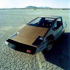 Robert Q. Riley - TC, a 100 mile-per-gallon hybrid car developed in 1981.