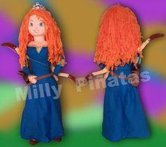 Piñata Brave, Valiente, Milly piñatas exclusivas