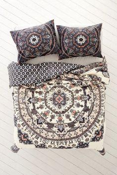 Beautiful boho bedding