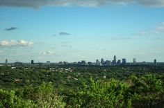 Mount Bonnell overlooks Lake Austin and the really rich part of town // Recommended by Jay's friend