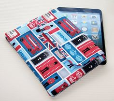 London Calling  Ipad Mini Envelope style case by WhimsyWooDesigns, £17.50