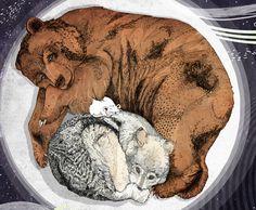 sleeping mouse!